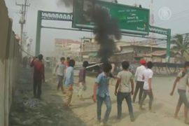 Полиция Камбоджи открыла огонь по протестующим