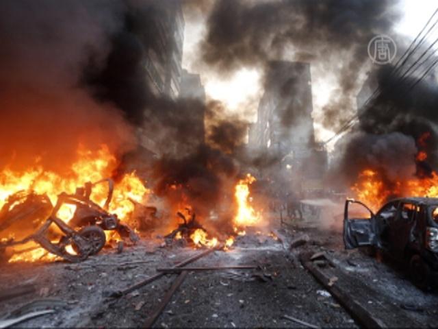 Пан Ги Мун осудил взрыв в Бейруте