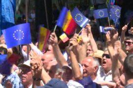 Парламент Молдовы поддержал Соглашение с ЕС