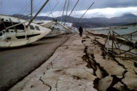 В Греции – второе землетрясение за неделю