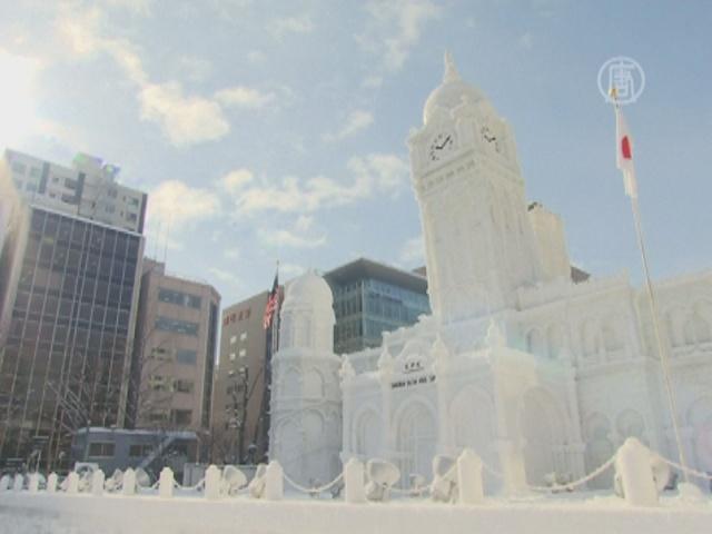 Японский снежный фестиваль поражает воображение