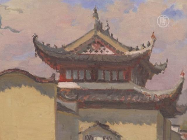 Петербуржцы увидели Китай глазами художника