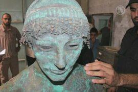 Находка 2000-летней статуи в Газе покрыта тайной