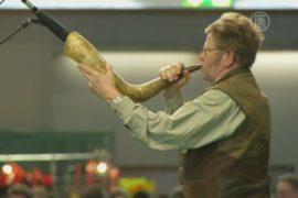 В Германии соревновались на лучший рёв оленя