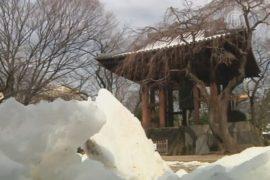 Сильнейший снегопад в Японии: 13 погибших