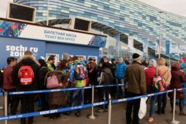 Олимпийские кассы – главный дефицит в Сочи