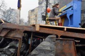 Активисты «Евромайдана» не забывают о творчестве