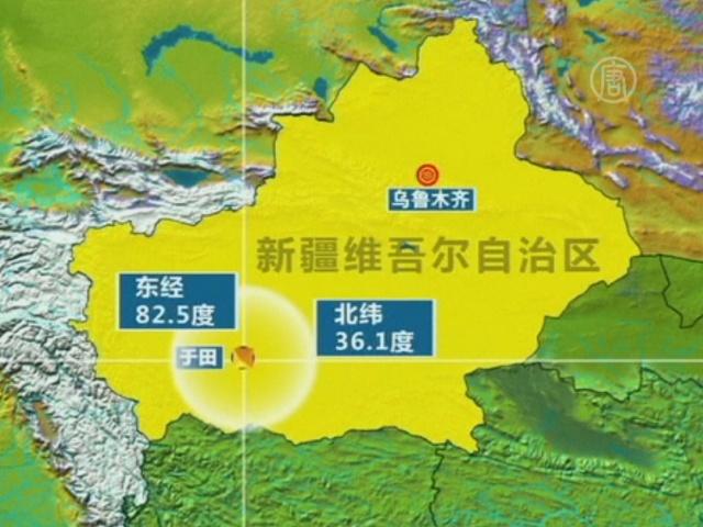 Землетрясение магнитудой 7,3 на северо-западе КНР