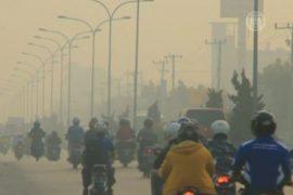 Суматру окутал дым от лесных пожаров