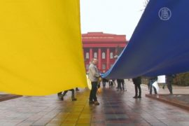 Студенты призывают киевлян надеть ленточки