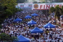 В Маниле вышли на благотворительную прогулку