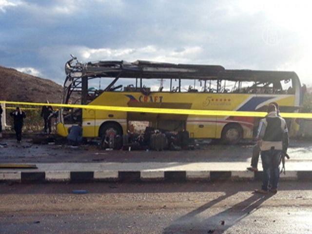 В Египте взорвали автобус с южнокорейцами