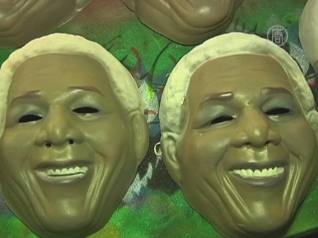 Карнавал в Рио торопятся обеспечить масками
