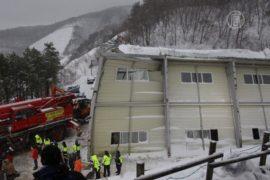 Крыша рухнула на корейском курорте, есть жертвы