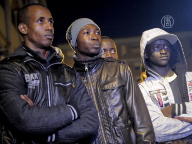 Испанские пограничники обстреляли мигрантов