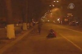 Киев: убийство активиста сняли на видео