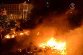 Столкновения в Киеве: не менее 25 погибших