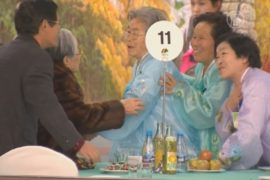 Разделённые войной корейцы вновь могут встречаться