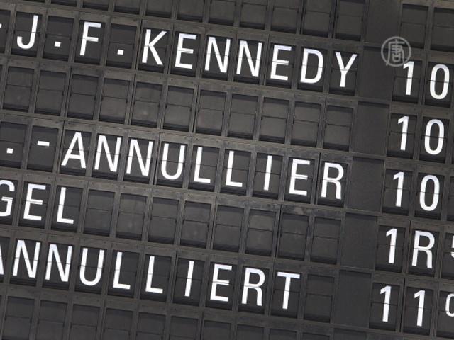 Из-за забастовки охраны в Германии отменяют рейсы
