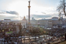 В Киеве приостановлена стрельба