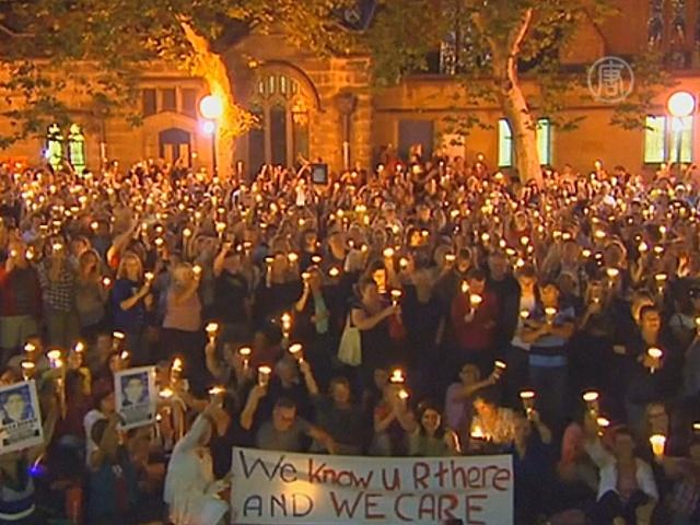 В Сиднее свечами почтили память убитого иранца