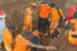 В Индонезии ищут жертв оползней