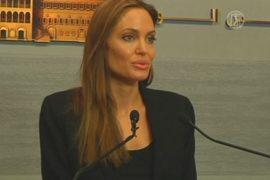 Анджелина Джоли ждёт эффекта от резолюции по Сирии