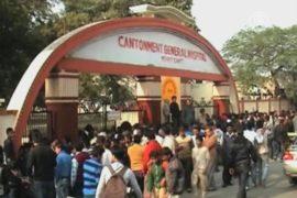 Леопард вызвал панику в индийском городе