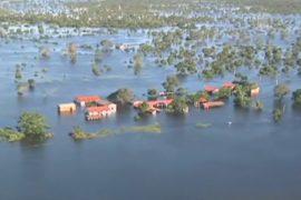 Разлившаяся Амазонка топит города в Боливии