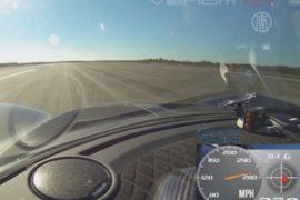 Суперкар разогнался до 435 километров в час