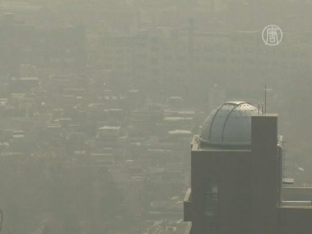Сеул накрыл ядовитый смог из Китая
