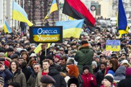 В Украине — акции против ввода войск в Крым