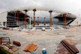Бразилия не достроит стадион в Сан-Паулу в срок