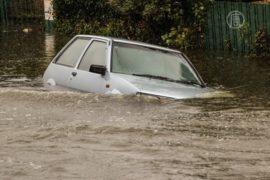 Улицы Крайстчёрча превратились в реки