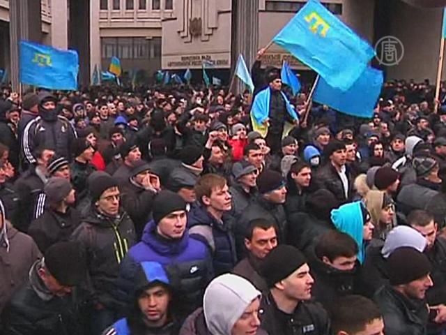 Крымские татары против референдума