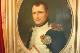 Ранее неизвестные вещи Наполеона уйдут с молотка