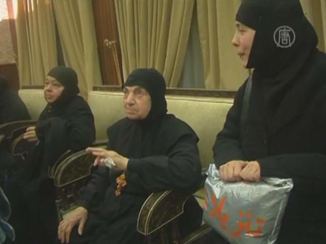 Сирийские боевики отпустили пленных монахинь