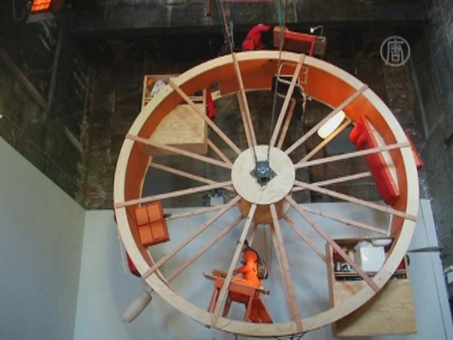 Жизнь в гигантском колесе хомяка