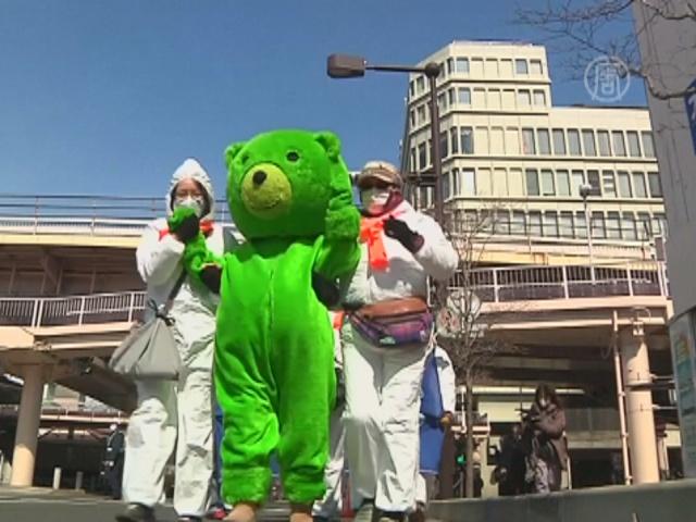 В годовщину аварии на «Фукусиме» японцы протестуют