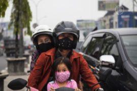 Смог в Индонезии угрожает здоровью людей
