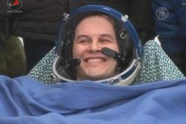 «Союз ТМА-10М» доставил экипаж с МКС