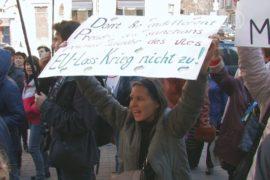 Активисты требуют от ЕС санкции в отношении к РФ