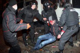 Трое погибли на митинге в Донецке