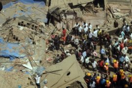 В Мумбаи рухнула семиэтажка