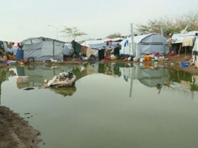Беженцев в Южном Судане заливает дождями