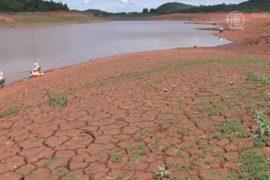 В Сан-Паулу — небывалая засуха
