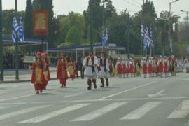 Афины: студенческий парад под небывалой охраной