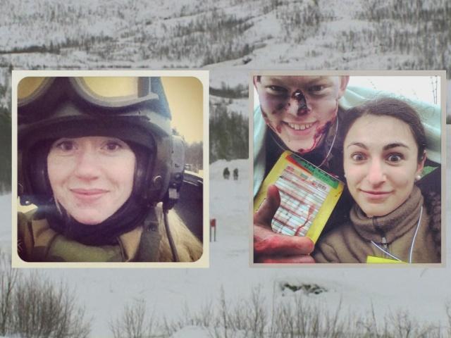 Фото с военных учений в Норвегии заполнило соцсети