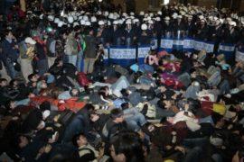 Протесты в Тайване продолжаются