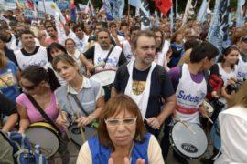 Аргентинские учителя вышли на забастовку
